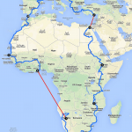 Bike for Africa - Itinéraire